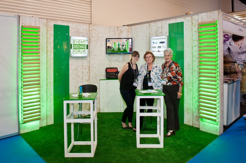 The EGF stand at Meetings Africa 2016.